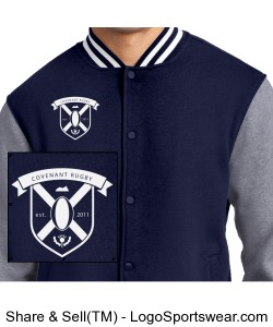 Rugby Jacket Design Zoom